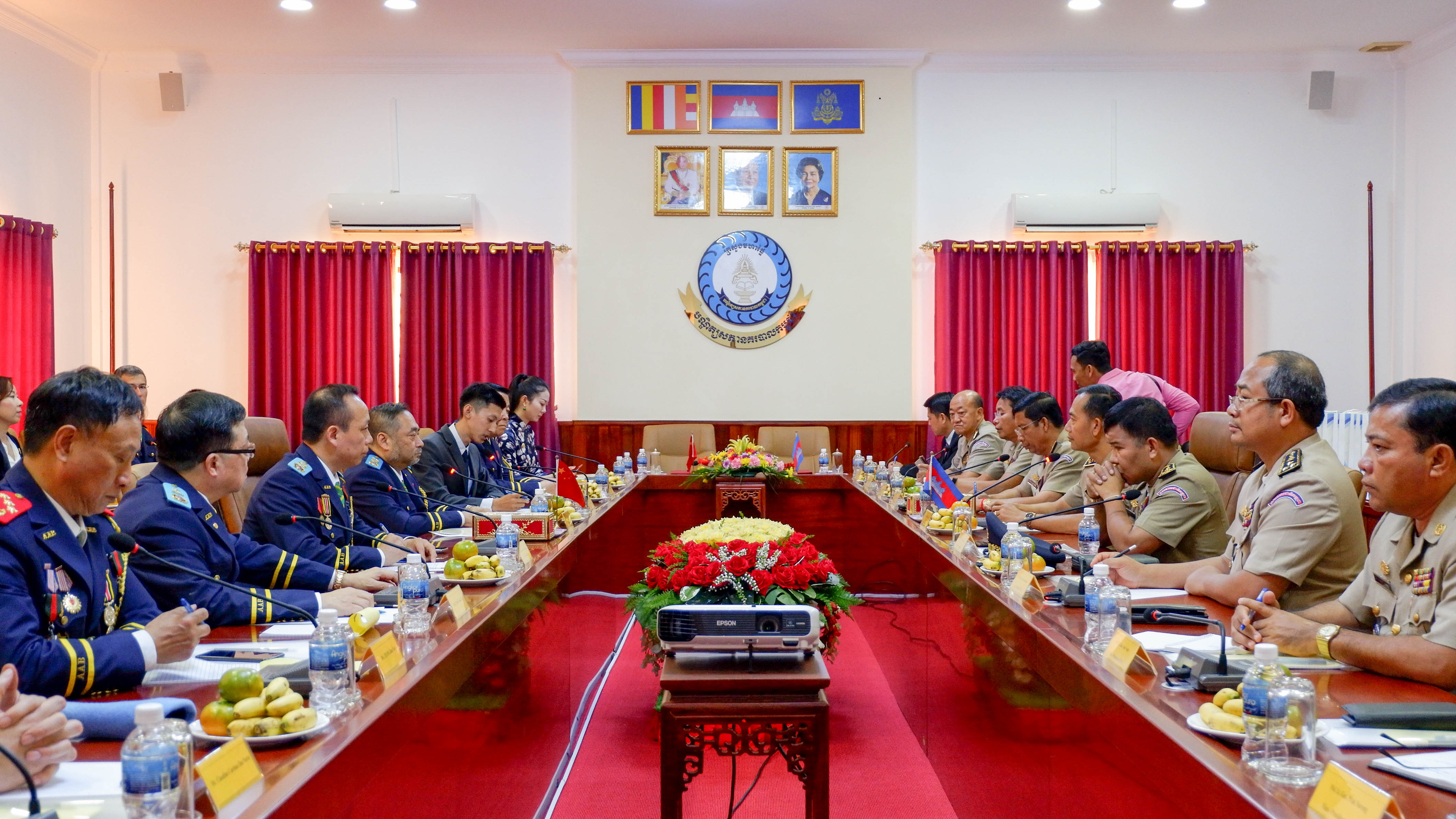 IPA Macau visit National Police Academy of Cambodia