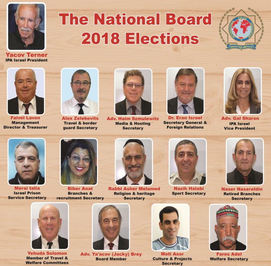 Elections in IPA Israel