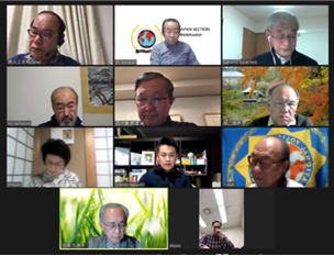 IPA Japan successfully hold first online Board Meeting