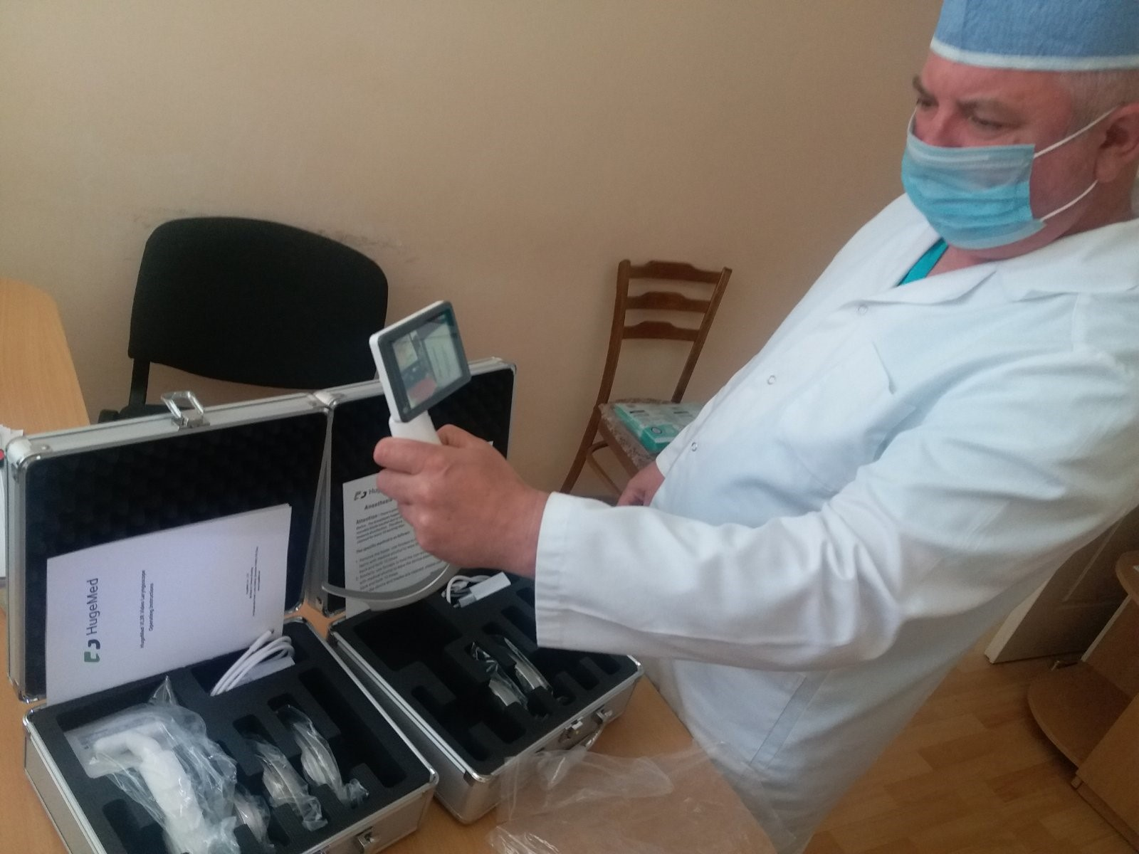 IPA Moldova buy vital Medical Equipment for the Treatment of Police Officers infected with Covid-19