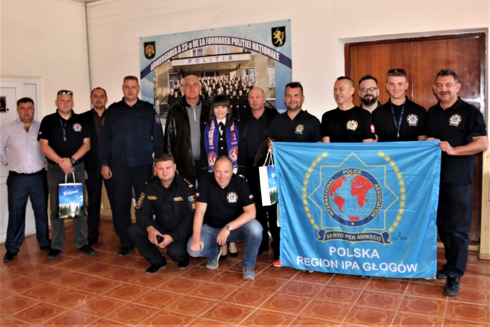 Police officers from IPA Poland's Lower Silesia Region come to the rescue of their Moldovan colleagues