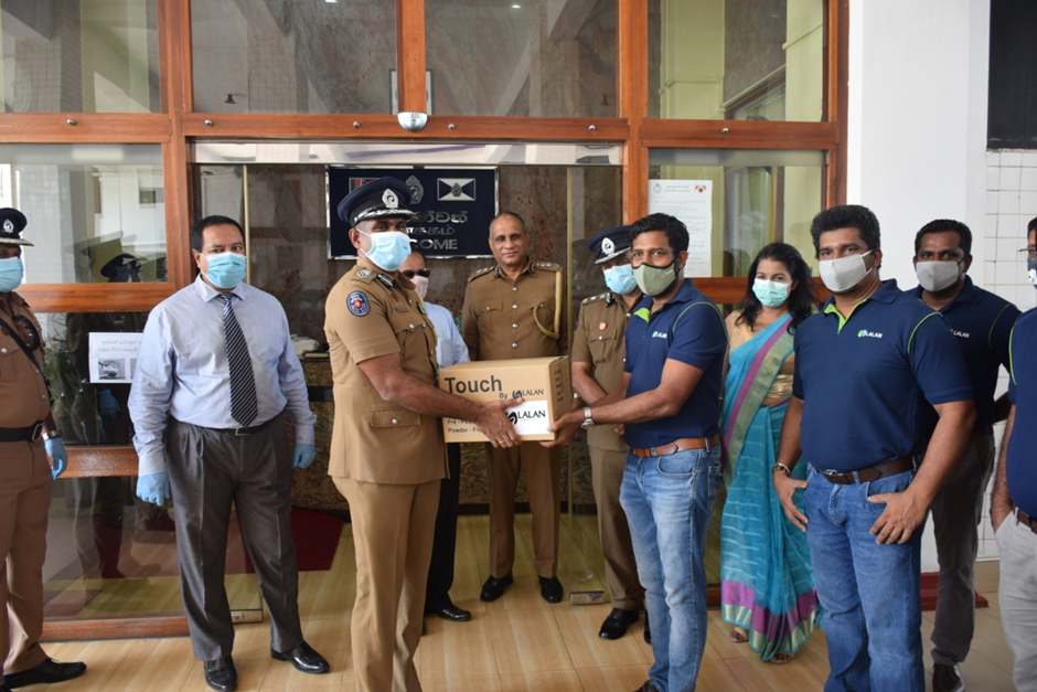 IPA Sri Lanka Support during the Covid-19 Pandemic: Donation of Gloves to the Sri Lankan Police Force